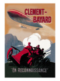 Clement-Bayard, French Dirigible Wall Decal by Ernest Montaut