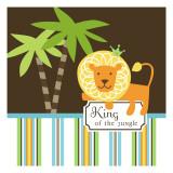 König des Dschungels Wandtattoo