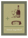 Cider and Cheese Wallstickers