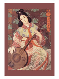 Japanese Musician Wall Decal