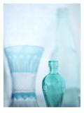 Turquoise Vases II Wall Decal