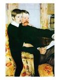 Alexander Cassatt and Robert Kelso Cassatt Wall Decal by Mary Cassatt