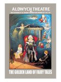 The Golden Land of Fairy Tales at the Aldwych Theatre Wall Decal by Val Prince