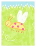 Buzzing Ladybug Wall Decal