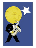 Moonlight Jazz Wall Decal
