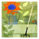 Gardening in Spring Wallstickers