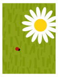 Ladybug and Daisy Wall Decal