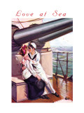 Love at Sea Wall Decal