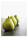Traveling Pears in Green Wall Decal