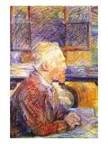 Portrait of Van Gogh Wallstickers af Henri de Toulouse-Lautrec