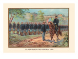 U.S. Army Infantry Field Equipment, 1899 Wall Decal by Arthur Wagner