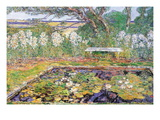 A Garden On Long Island Wall Decal by Childe Hassam