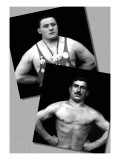 Two Bodybuilding Champions Wall Decal