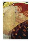 Danae Wandtattoo von Gustav Klimt