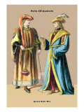 French Nobleman, 15th Century Wall Decal by Richard Brown