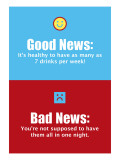 Good News, Bad News Wall Decal