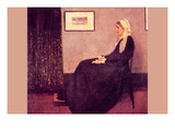 Whistler's Mother Wall Decal by James Abbott McNeill Whistler