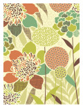 Patchwork Flowers Wall Decal