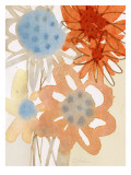 Watercolor Bouquet III Wall Decal