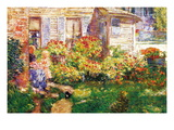 A Fishing Hut In Gloucester Autocollant mural par Childe Hassam