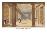 College Library, Dublin, 1793 Wall Decal by James Malton