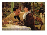 P Lathuille Wall Decal by Édouard Manet