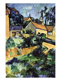 Road Curve In Montgerout Wall Decal by Paul Cézanne