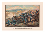 U.S. Army, Field Batteries, Malvern Hill, 1862 Wall Decal by Arthur Wagner
