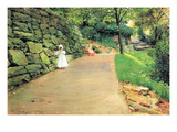 In The Park - a Byway Wall Decal by William Merritt Chase