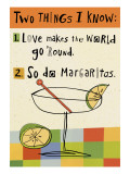 Margarita Love Wall Decal