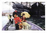 How Happy I Would Be with Both Wall Decal by James Tissot