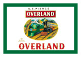 Overland Cigars Wall Decal
