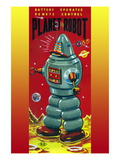 Planet Robot Wall Decal