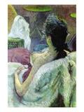 Resting Model Vinilos decorativos por Henri de Toulouse-Lautrec
