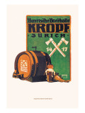 Bayristhe Bierhalle Kroph Wall Decal