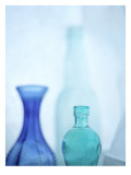 Turquoise Vases I Wall Decal