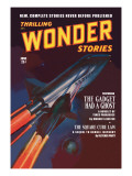 Thrilling Wonder Stories: Attack of the Ghost Fleet Wall Decal