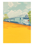 Red Star Bullet Train Wall Decal