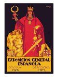 Exposition General Espanola Wall Decal by Rafael de Penagos