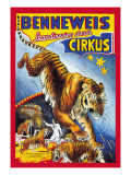 Benneweis Circus Wall Decal by Oscar Knudsen