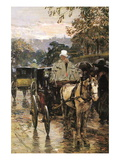 Rue Bonaparte Wall Decal by Childe Hassam