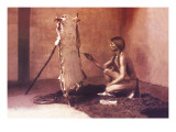 Primitive Art Wall Decal by Carl And Grace Moon