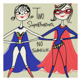 Superhero Friends Wall Decal