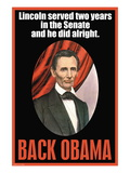 Back Obama Wall Decal