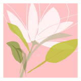 Soft Floral VII Wallstickers