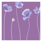 Soft Floral II Wallstickers
