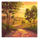 Country Lane Wallstickers