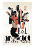 Bal Arcenciel Wall Decal