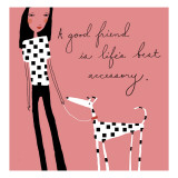 Good Friend Accessory Wall Decal