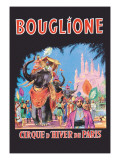 Bouglione, Cirque d'Hiver de Paris Wall Decal